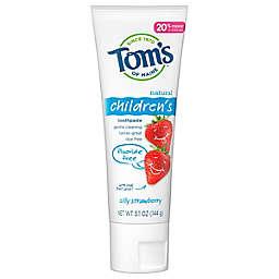 Tom's of Maine® Kids Silly Strawberry Anticavity 5.1 oz. Fluoride-Free Toothpaste