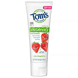 Tom's of Maine® Childrens Silly Strawberry Anticavity 5.1 oz. Fluoride Toothpaste
