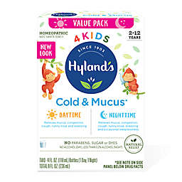 Hyland's® 4 Kids 2-Pack 4 oz. Daytime/Nighttime Cold N' Mucus Medicine