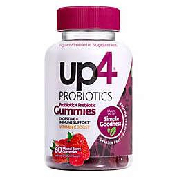 Up4® 60-Count Probiotics Gummies in Mixed Berries