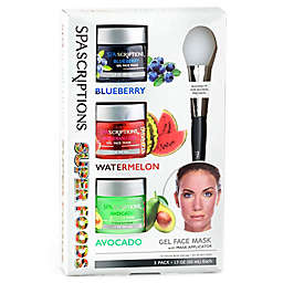 Global Beauty Care™ 3-Pack 1.7 oz. Super Foods Assorted Gel Masks