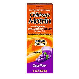 Children's Motrin® 4 oz. Oral Suspension Pain Reliever/Fever Reducer in Grape
