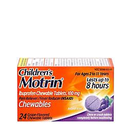 Children's MOTRIN® 24-Count Chewable Ibuprofen Tablets in Grape
