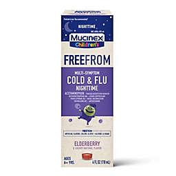 Mucinex® Children's FreeFrom™ 4 fl. oz. Multi-Symptom Cold and Flu Night Time Medicine