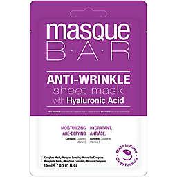 masque BAR™ 0.5 oz. Anti-Wrinkle Sheet Mask with Hyaluronic Acid