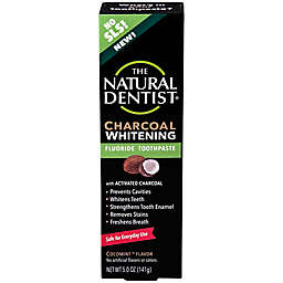 The Natural Dentist® 5 oz. Charcoal Whitening Fluroide Toothpaste