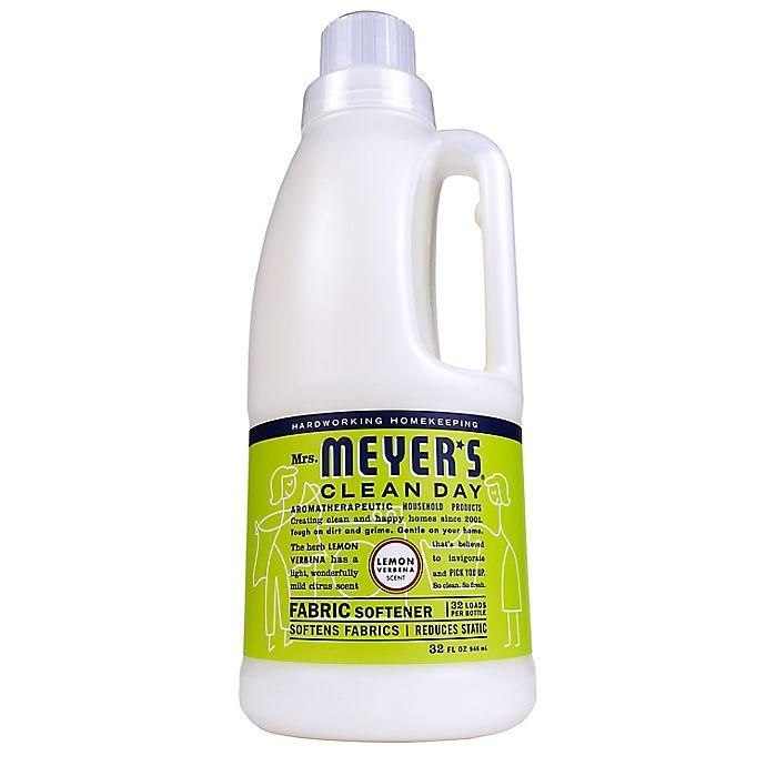 Alternate image 1 for Mrs. Meyer's® Clean Day Lemon Verbena Fabric Softener