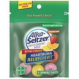 Alka-Seltzer® 8-Count Travel Size Extra Strength Heartburn ReliefChews
