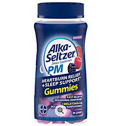 Alka-Seltzer® 54-Count PM Heartburn Relief + Sleep Support™ Gummies in Mixed Berry
