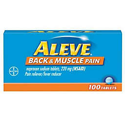 Aleve® 100-Count Back & Muscle Pain Reliever/Fever Reducer Tablets