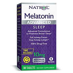 Natrol® 30-Count 10 mg Melatonin Advanced Maximum Strength Tablets