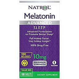 Natrol® 100-Count 10 mg Melatonin Sleep Support Time Release Tablets