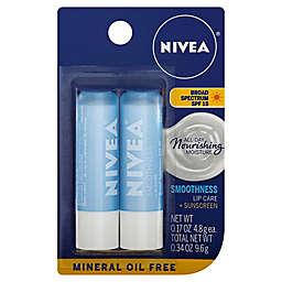 Nivea® 2-Pack Moisturizing Lip Balm