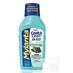 Mylanta® Coat & Cool™ 12 oz. Antacid and Anti-Gas Liquid in Chocolate Mint