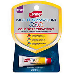 Carmex® .07 oz. Multi-Symptom 3-in-1 Cold Sore Lip Treatment