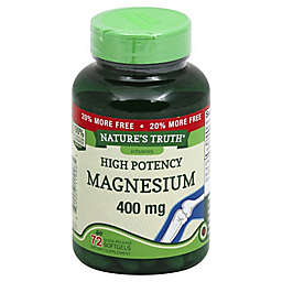 Nature's Truth® 72-Count Extra-Strength 400 mg Magnesium Quick Release Softgels