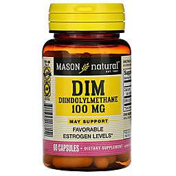 Mason Natural® 60-Count 100 mg Dim Diindolylmethane Capsules