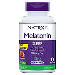 Natrol® 100-Count 10 mg Melatonin Sleep Support Fast Dissolve Tablets