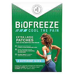 Biofreeze® 4-Count X-Large Patches