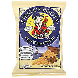 Pirate's Booty® Aged White Cheddar Rice and Corn Puffs 4 oz. Bag