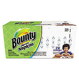 Bounty 200-Count Paper Napkins in White