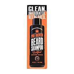 Wild Willies 4 oz. ProGro Beard Shampoo