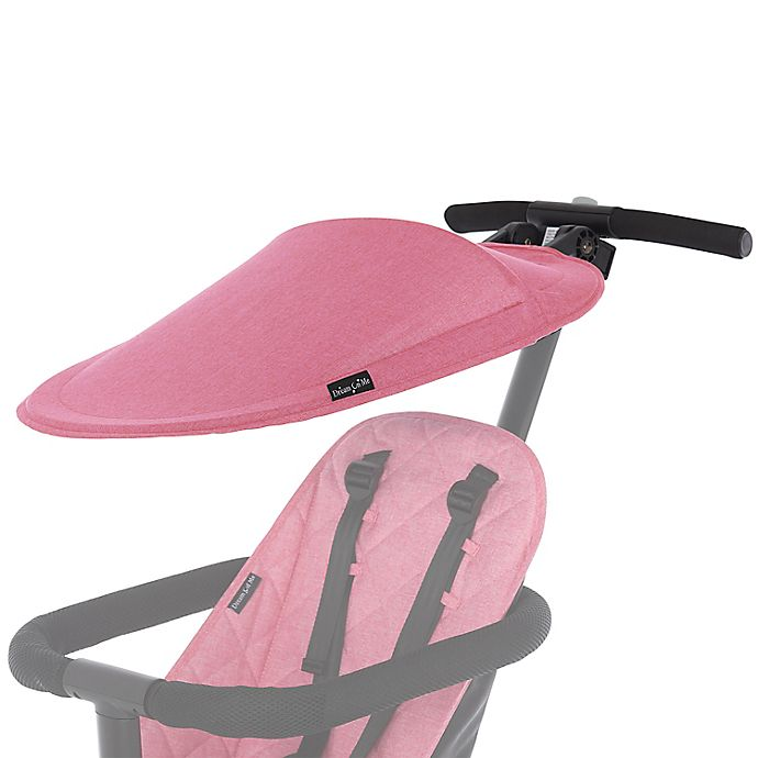 Alternate image 1 for Dream On Me Coast Rider Stroller Sun Canopy in Pink