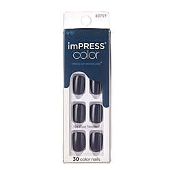KISS® imPRESS® Color Press-On Manicure in Graytitude (Set of 30)