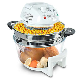NutriChef™ Countertop Oven Air Fryer in White