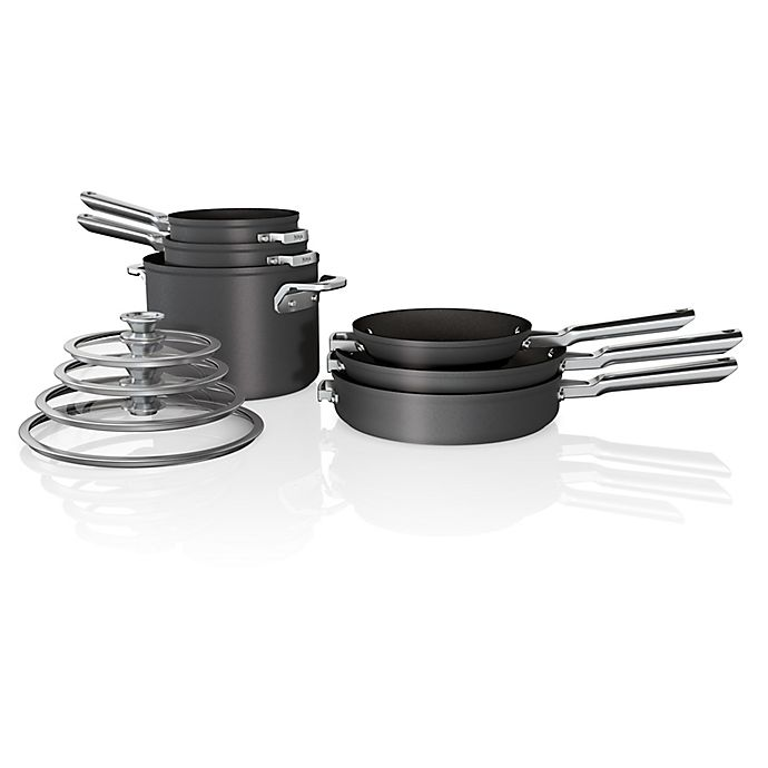 Alternate image 1 for Ninja™ Foodi™ NeverStick™ Premium Space Saving 10-Piece Cookware Set