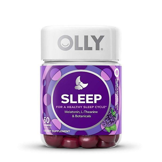 Alternate image 1 for OLLY™ 50-Count Restful Sleep Gummies in Blackberry Zen