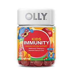 Olly® 50-Count Kid's Immunity Gummies in Cherry Berry