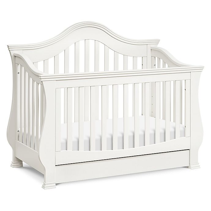Alternate image 1 for Million Dollar Baby Classic Ashbury 4-in-1 Convertible Crib in Warm White