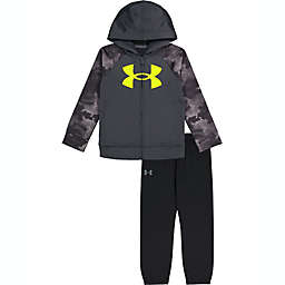 Under Armour® Size 12M Cloud Camo Hoodie Set in Black