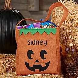 Jack-O-Lantern Halloween Treat Bag