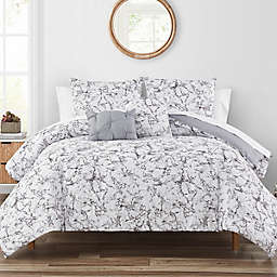 Highline Bedding Co. Glass Marble 5-Piece Queen Comforter Set in Grey