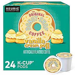 The Original Donut Shop® Vanilla Puff Coffee Keurig® K-Cup® Pods 24-Count