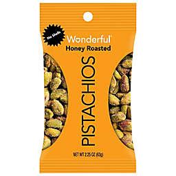 Wonderful® 2.25 oz. Honey Roasted Pistachios