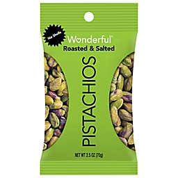 Wonderful® 2.5 oz. Roasted & Salted No Shell Pistachios