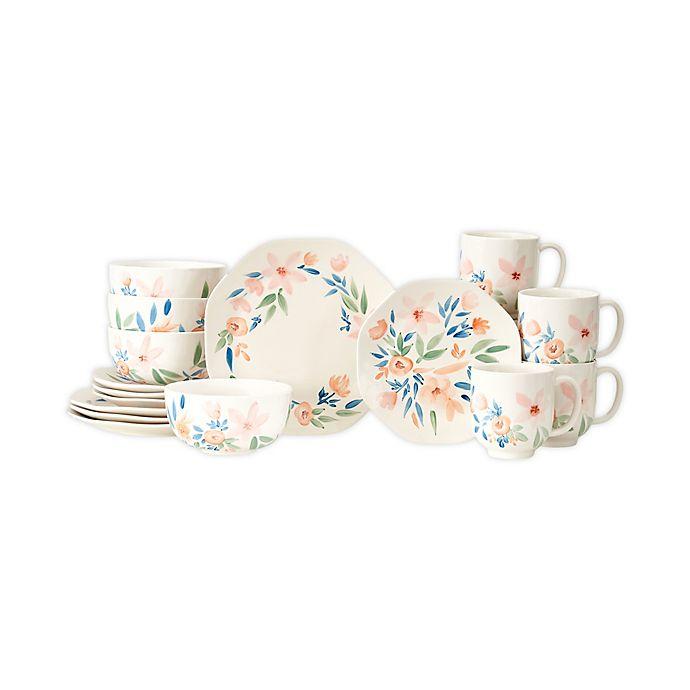 Alternate image 1 for Baum Spring Spree 16-Piece Dinnerware Set