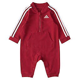 adidas® Tracksuit Coverall in Red