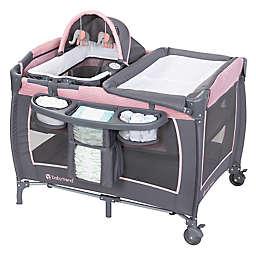 Baby Trend® Lil Snooze Deluxe III Nursery Center Playard in Pink