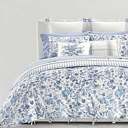 Lauren Ralph Lauren Ada 3-Piece Reversible Duvet Cover Set in Blue/Cream