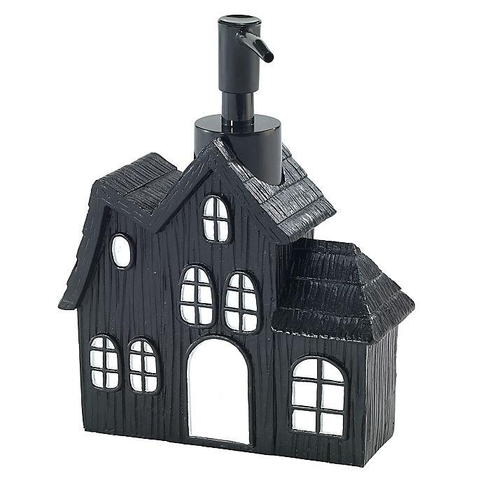 Alternate image 1 for Avanti Halloween Lotion/Soap Dispenser in Black