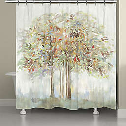 Laural Home® Nature's Melody 71-Inch x 72-Inch Shower Curtain