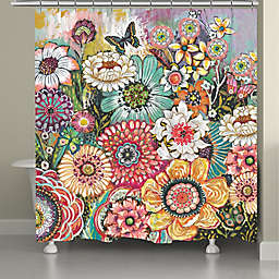 Laural Home® 71-Inch x 72-Inch Bohemian Whimsy Shower Curtain
