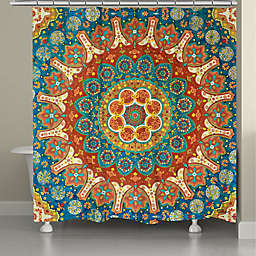 Laural Home® Spice Mandala 71-Inch x 72-Inch Shower Curtain