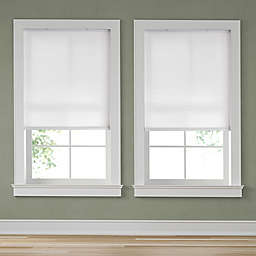 Simply Essential™ Cordless Light Filtering Cellular 56-Inch x 64-Inch Shade in Snow