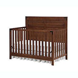 Ti Amo Mila 4-in-1 Convertible Crib in Rustic Brown