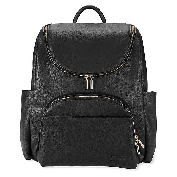 Alternate image 1 for SKIP*HOP® Evermore 6-in-1 Diaper Backpack Set in Black